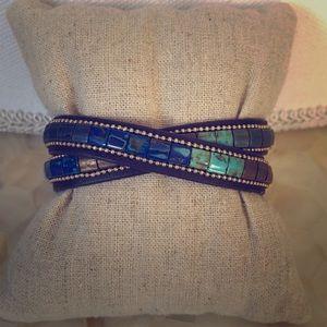 Stella & Dot River Wrap bracelet